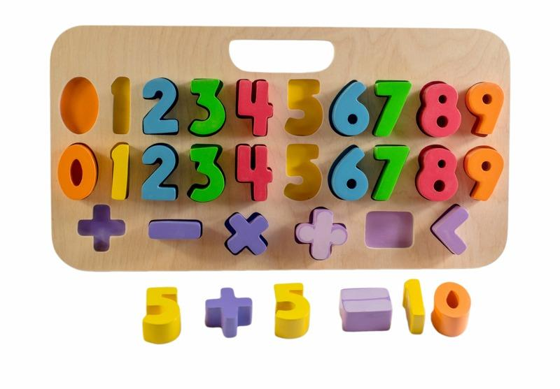 Kiddie Connect Carry Around Number Puzzle