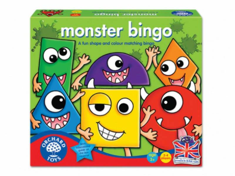 Orchards Toys Monster Shape And Colour Bingo