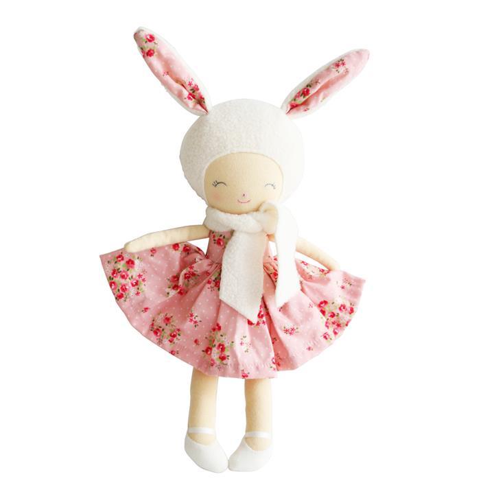 Alimrose Belle Bunny Girl Pink Floral