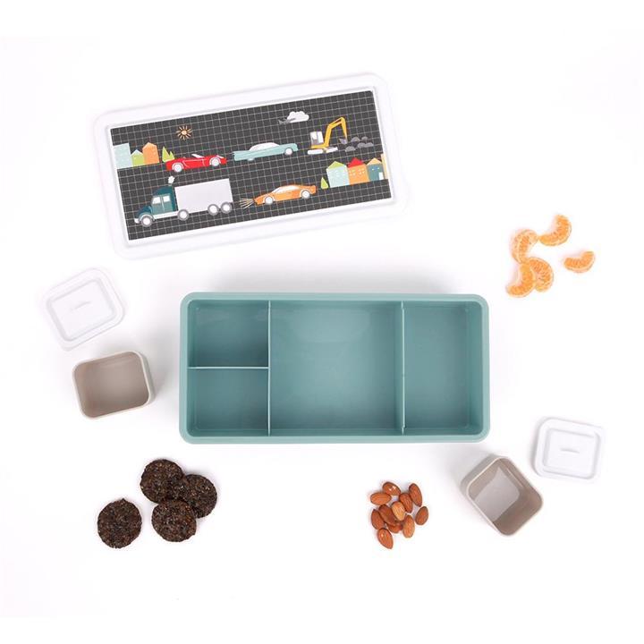 Love Mae Cars and Trucks - Bento Lunch Box