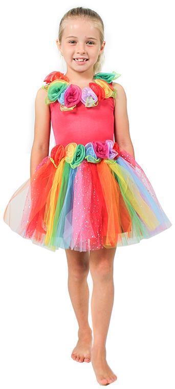 Enchanting Rainbow Fairy Dress