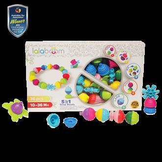Lalaboom Beads and Accessories 36 Pcs