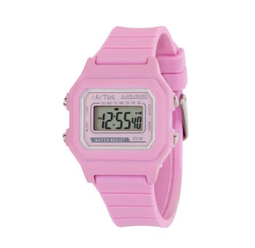 Cactus Dynamo Kids Digital Watch - Pink