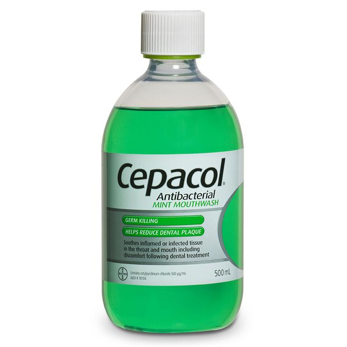Image of Cepacol Solution Mint 500ml