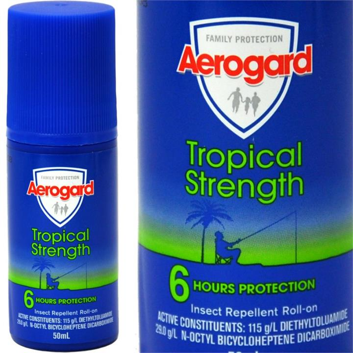 Image of Aerogard Tropical Strength Insect Repellent Roll On 50ml