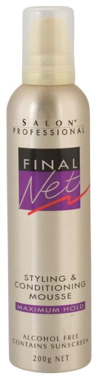 Image of Final Net Hair Mousse 200g