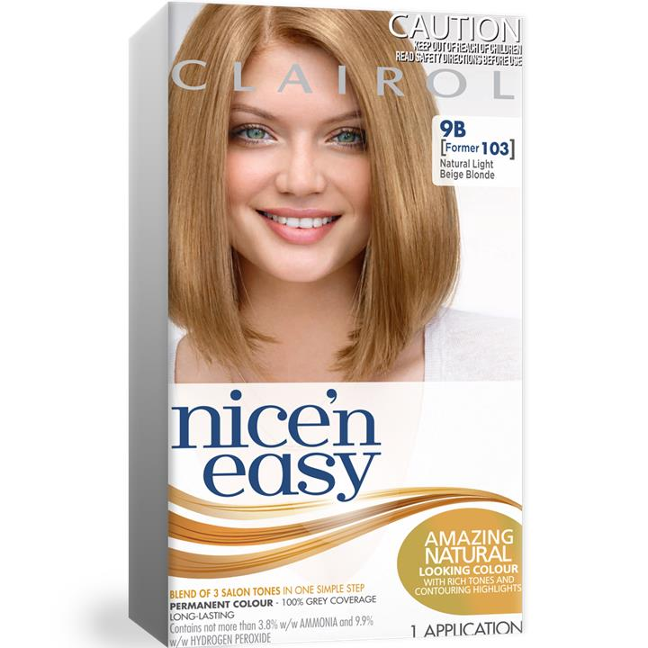 Image of Clairol Nice And Easy 103 Lite Blonde