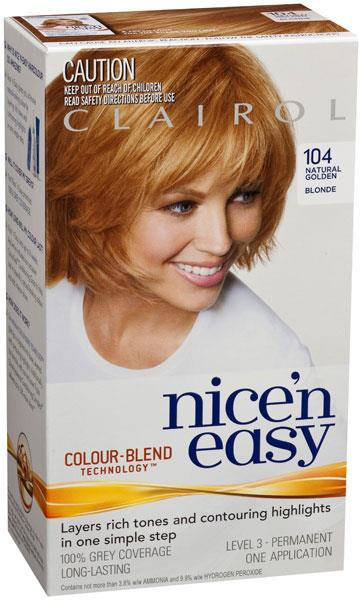 Image of Clairol Nice And Easy 104 Golden Blonde