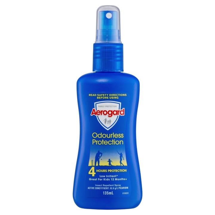 Image of Aerogard Insect Repellent Spray Odourless Protection 135ml