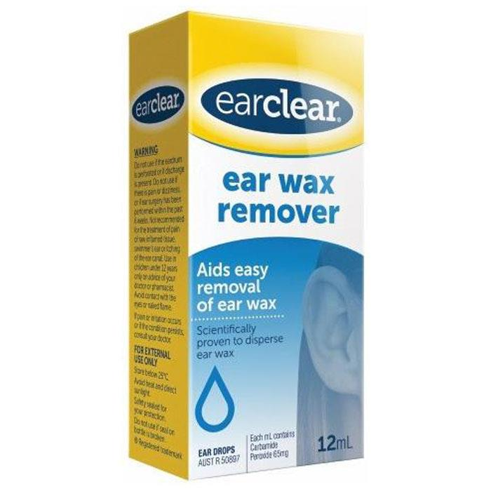 Image of Ear Clear Ear Wax Remover 12ml