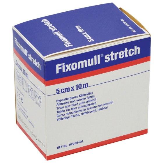 Image of Fixomull Hypoallergenic Adhesive Non-Woven Fabric 5cm X 10m Roll