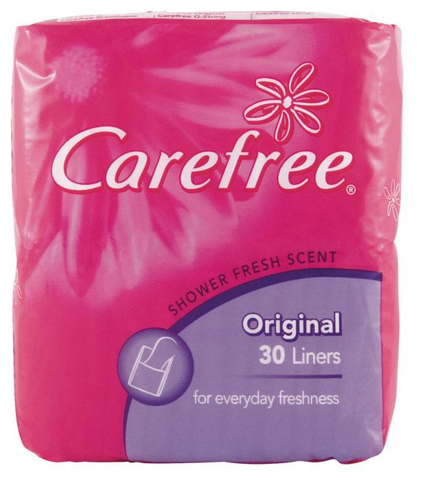 Image of Carefree Liners Original Shower Fresh Scent X 30