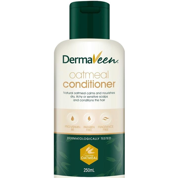 Image of DermaVeen Oatmeal Hair Conditioner 250ml