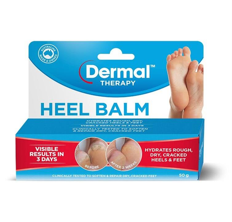 Image of Dermal Therapy Heel Balm 50g