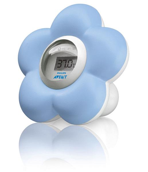 Image of Avent Digital Bath and Bedroom Thermometer (Blue)