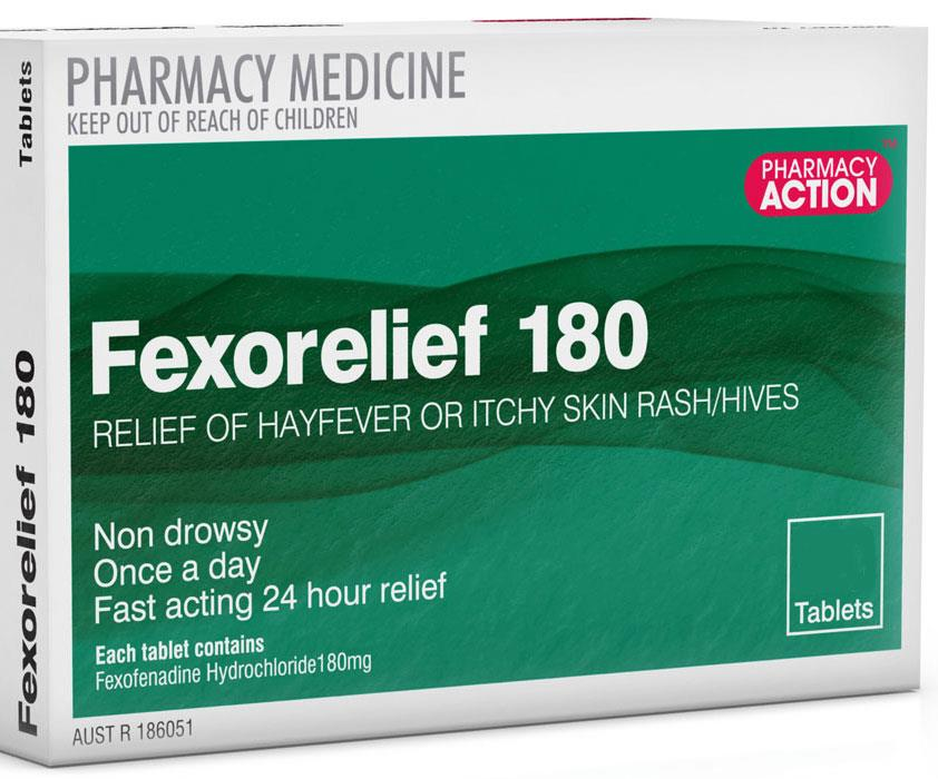 Image of Fexorelief 180mg Tab X 30 (Generic for TELFAST)