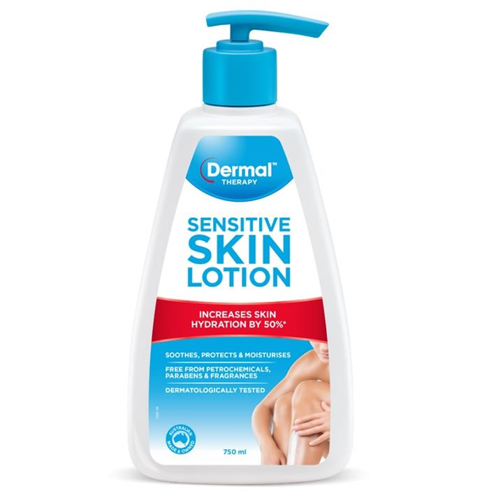 Image of Dermal Therapy Sensitive Skin Lotion 750ml