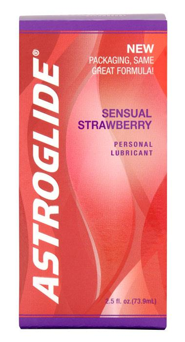 Image of Astroglide Strawberry Personal Lubricant 73.9ml
