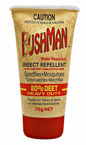 Image of Bushman Insect Repellent (Water Resistant) 75g