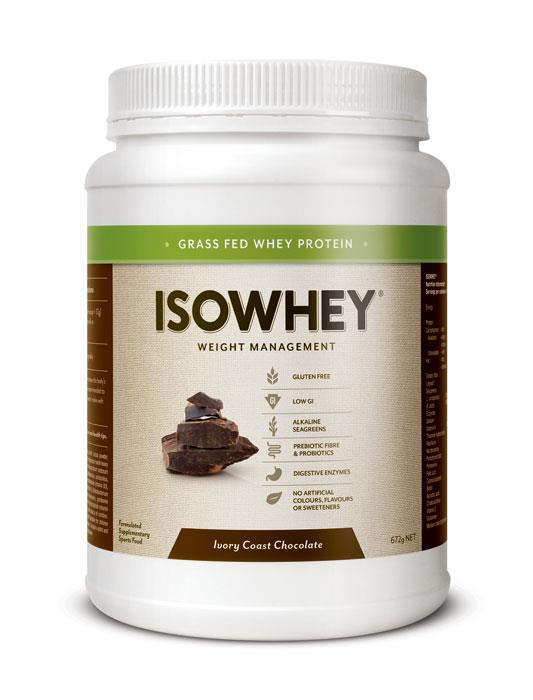 Image of IsoWhey Complete Weight Loss - Ivory Coast Chocolate 672g