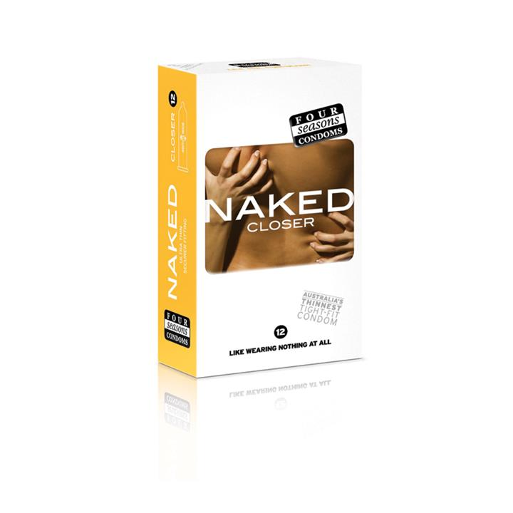 Image of Four Seasons Condoms Naked Closer X 12