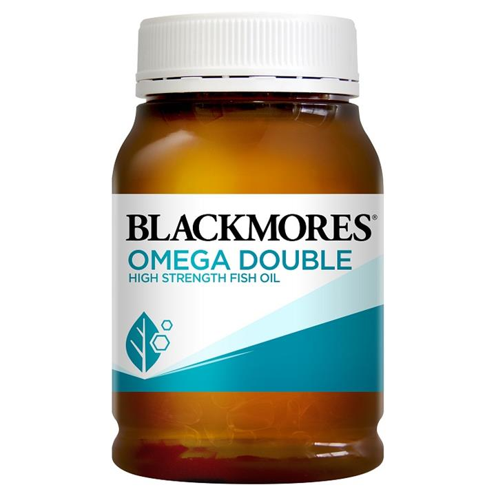 Image of Blackmores Omega Double High Strength Fish Oil Cap x 200