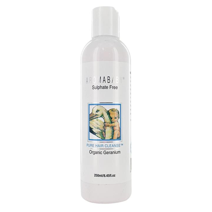 Image of Aromababy Pure Hair Cleanse With Organic Geranium 250ml