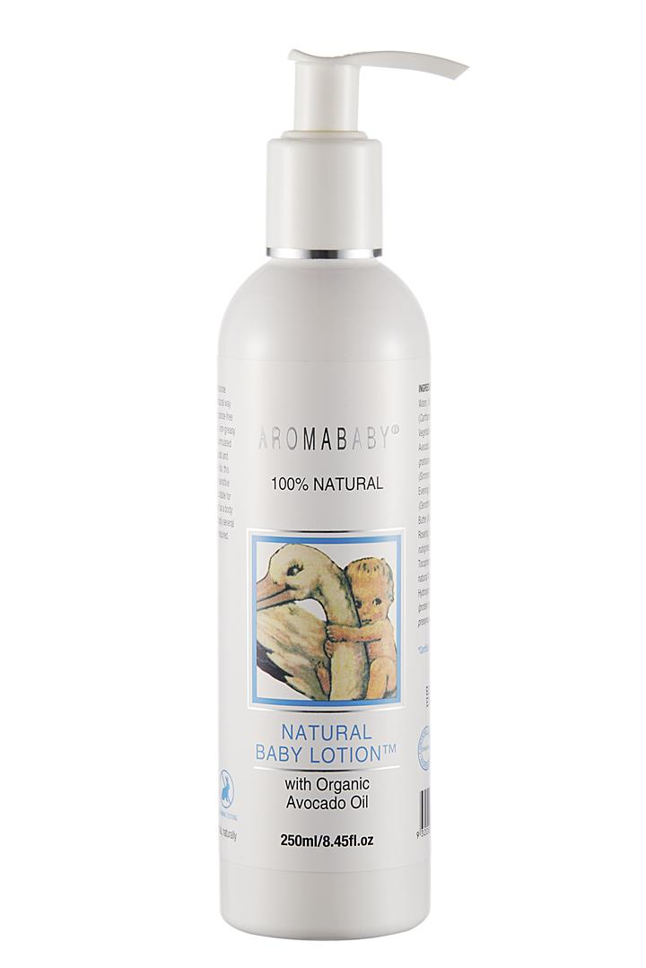 Image of Aromababy Natural Baby Lotion With Organic Avocado 250ml
