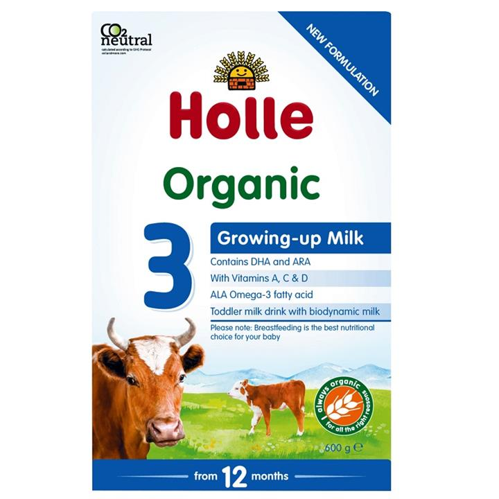 Image of Holle Organic Growing-up Milk with DHA - 3 (From 12 Months) 600g