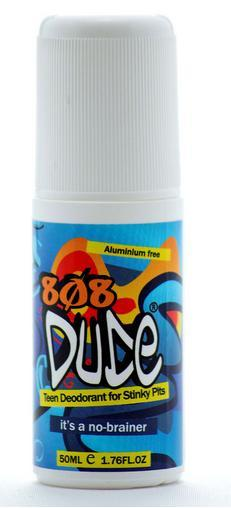 Image of 808 Dude Teen Deodorant For Stinky Pits 50ml
