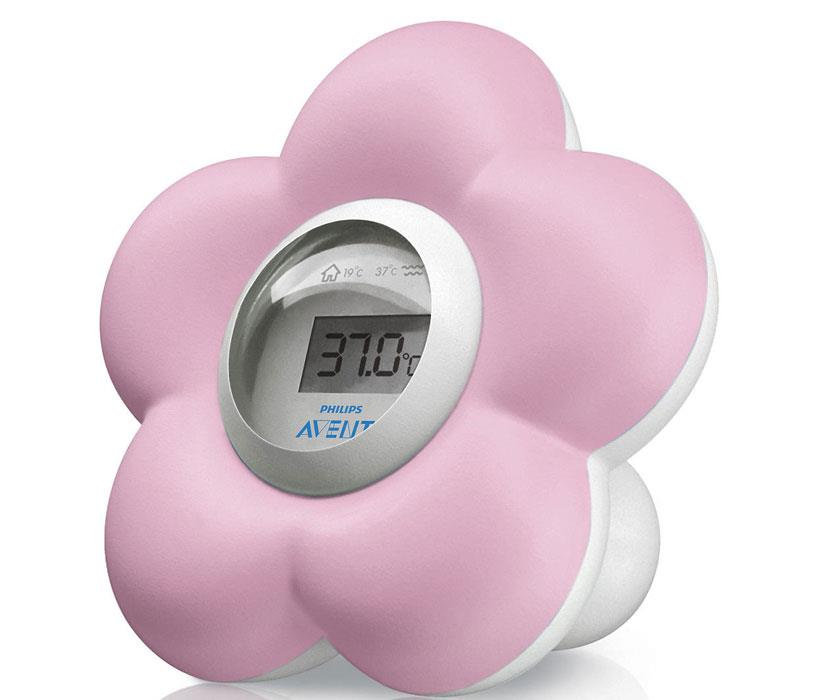 Image of Avent Digital Bath and Bedroom Thermometer (Pink)