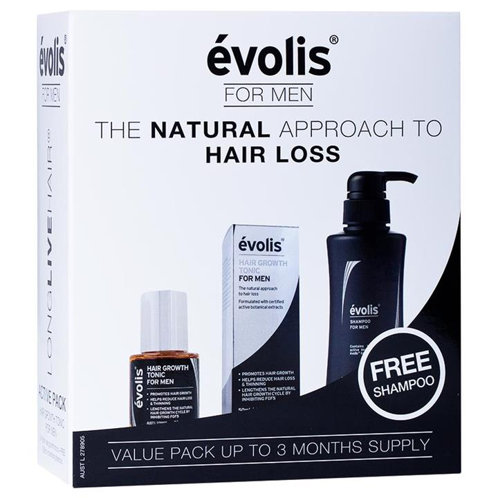 Image of Evolis Men's Active Pack (3 Month Supply)