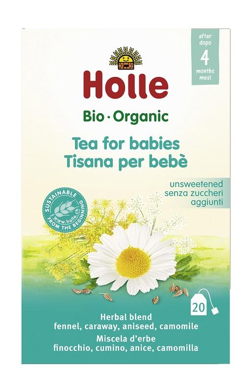 Image of Holle Organic Baby Tea for Kids (20 Teabags)