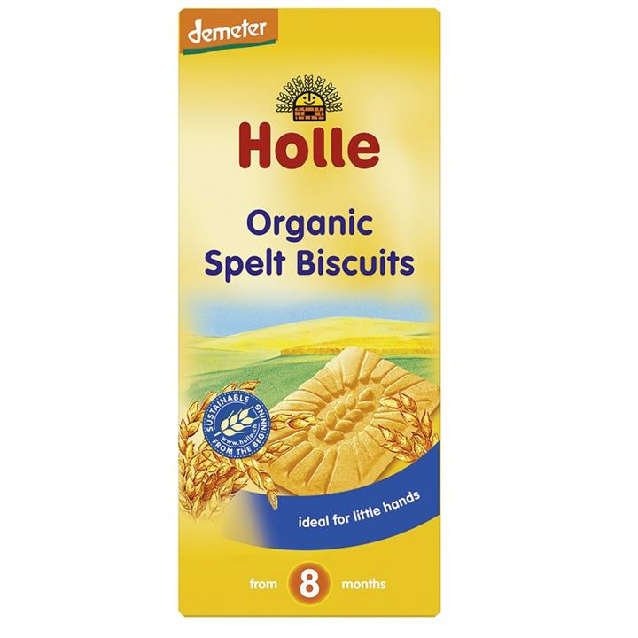 Image of Holle Organic Baby Spelt Biscuits 150g