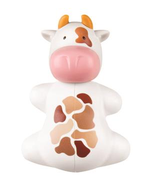 Image of Flipper Toothbrush Holder (Cow)