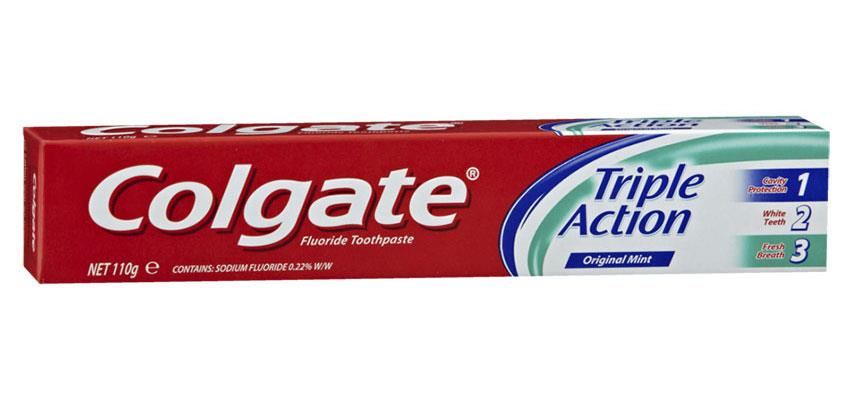 Image of Colgate Toothpaste Triple Action 220g