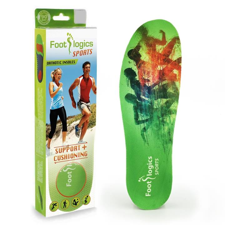 Image of Foot Logics Sports Orthotic Insoles (Large)