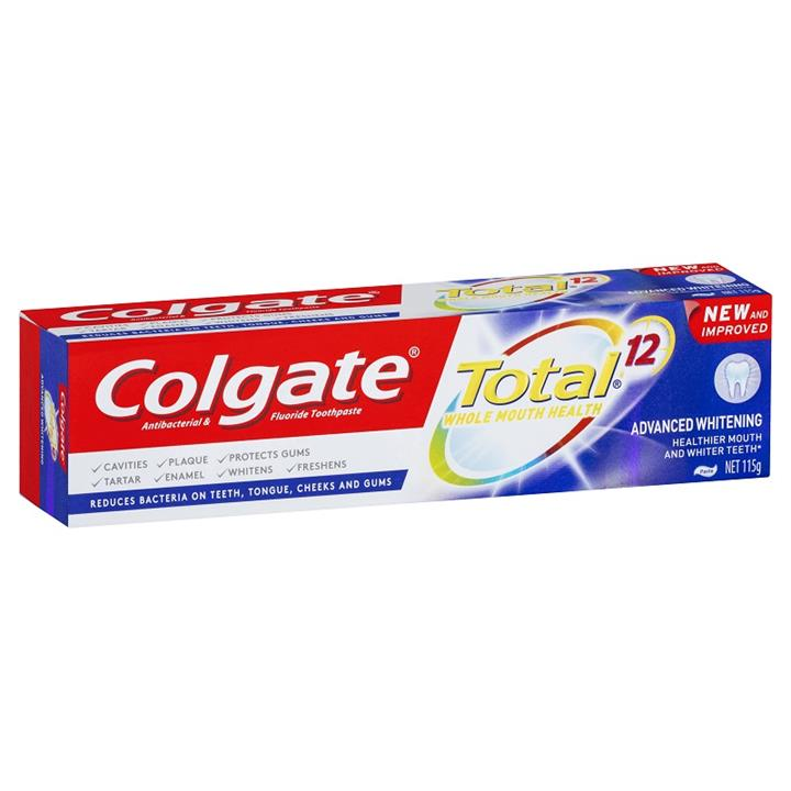 Image of Colgate Toothpaste Total Advanced Whitening 115g