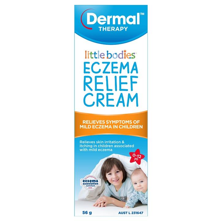 Image of Dermal Therapy Little Bodies Eczema Relief Cream 56g