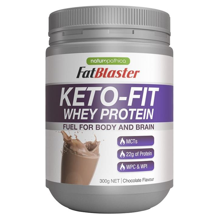 Image of FatBlaster Keto-Fit Whey Protein Chocolate 300g