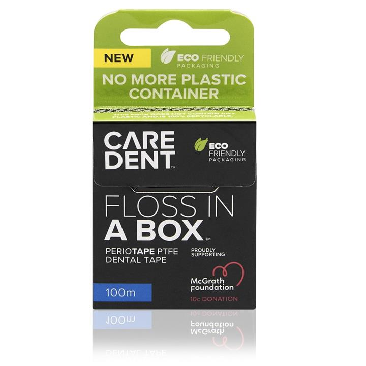 Image of CareDent Floss In A Box Periotape 100m