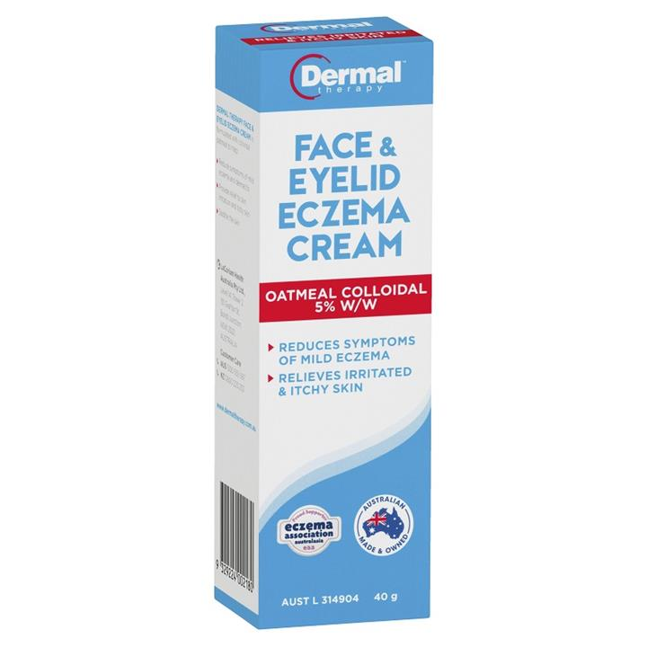 Image of Dermal Therapy Face & Eyelid Eczema Cream 40g