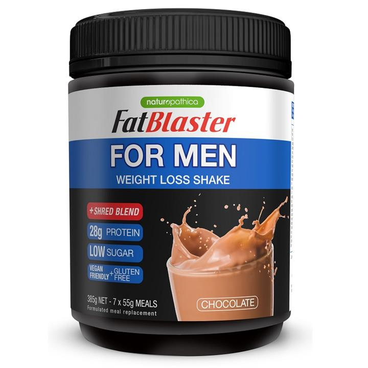 Image of FatBlaster For Men Weight Loss Shake Chocolate 385g