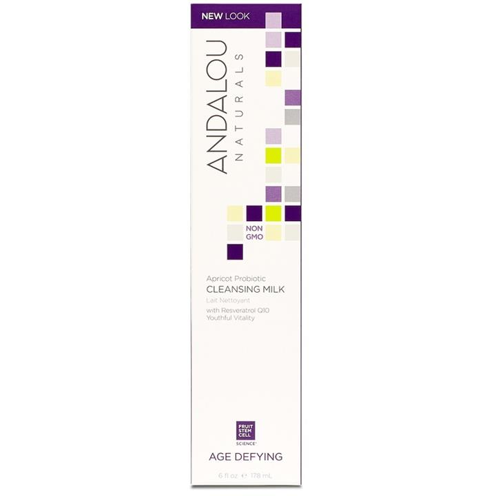 Image of Andalou Age Defying Apricot Probiotic Cleansing Milk 178ml