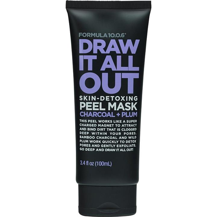 Image of Formula 10.0.6 Draw It All Out Skin-Detoxing Peel Mask 100ml