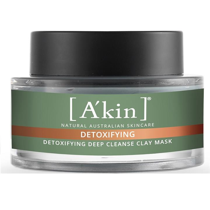 Image of A'kin Detoxifying Deep Cleanse Clay Mask 60g