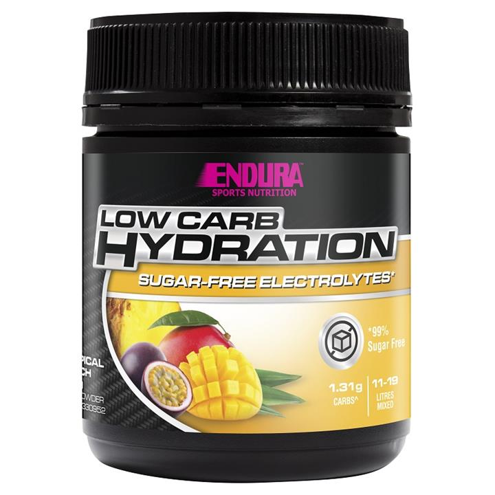 Image of Endura Low Carb Hydration (Tropical Punch) 135g