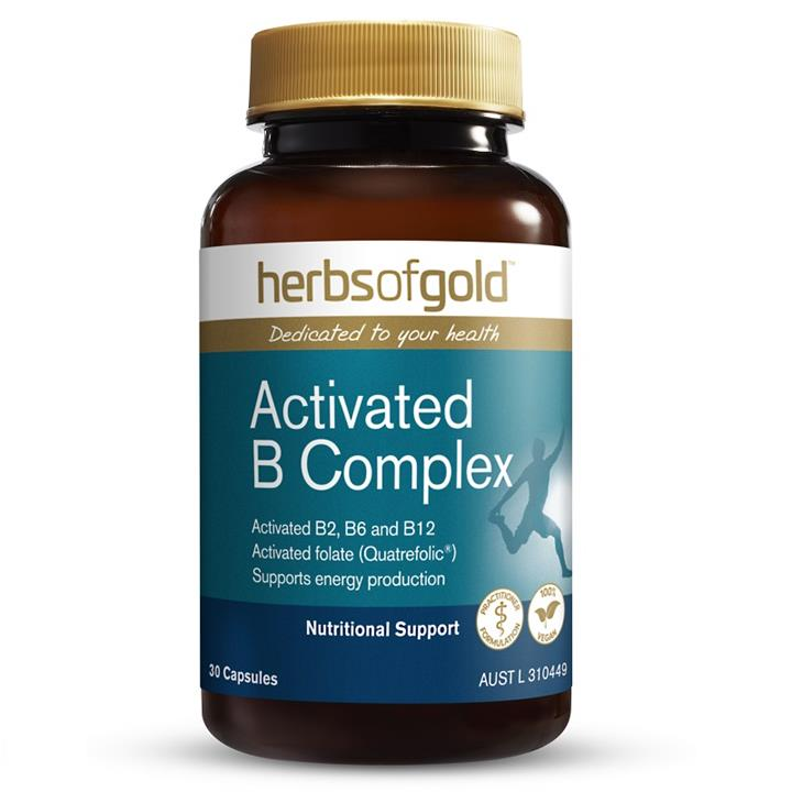 Image of Herbs of Gold Activated B Complex Cap X 30