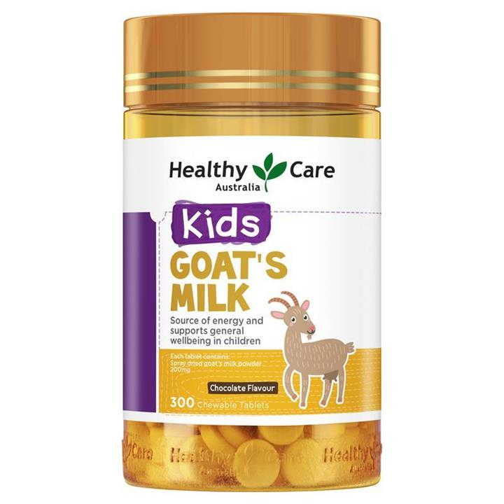 Image of Healthy Care Kids Goat's Milk (Chocolate) Tab X 300