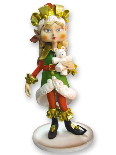 Image of Resin Elf Girl Decor - 1.2m